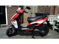 Motorini GP 125 Scooter - Only 2 Years old - Mot Till 19th Mar 2019