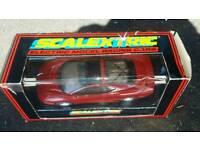 Scalextric racing car's x3
