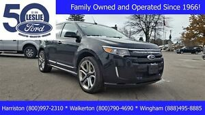 2013 Ford Edge Sport AWD | Finance from 1.9% | One Owner Kitchener / Waterloo Kitchener Area image 1