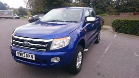 FORD RANGER XLT DOUBLE CAB 2013 4X4 PICK UP