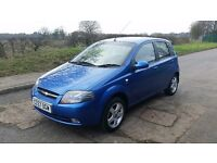 2007 57 CHEVROLET KALOS 1.4, 84K MILES, 1 PREVIOUS OWNER, MOT SEPTEMBER 2017