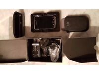 BlackBerry Torch 9800 Black (Unlocked) Smartphone in original box & genuine accessories