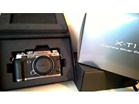Fuji XT1 Graphite Silver - 1yr guarantee with JL