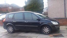 Renault senic 7 seater bargain
