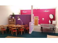 Office Pod in Co-Working Studio - Superfast WiFi, Central Elgin, All Bills Included - £200pcm