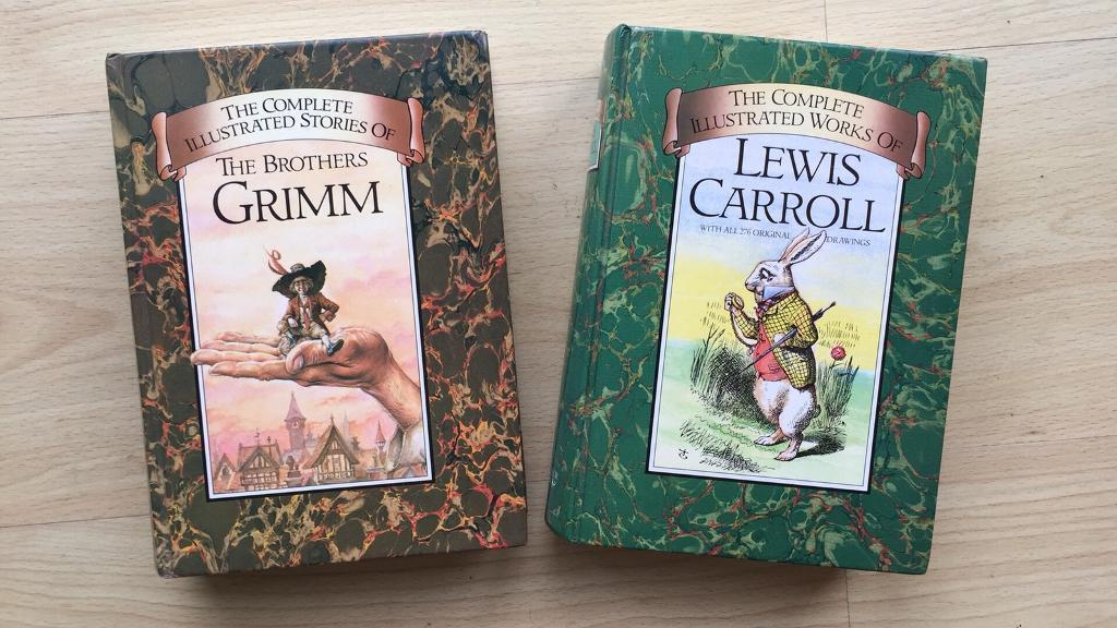 Complete stories by Lewis Carroll and the Brothers Grimm