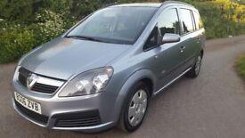 Vauxhall zafira 1.6 petrol mpv good conditon 7 seater