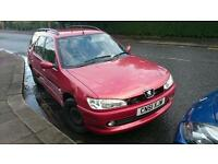 Peugeot 306 1.6 estate mot Aug swap