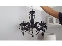 Black ceiling chandelier