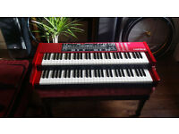 Clavia Nord C2 organ an moonswitch (updated to C2D) with gig bag as new, never out of the house