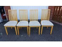 4 Dining Chairs FREE DELIVERY (02108)