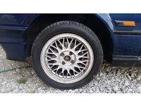 "BBS 4x100 15"" wheels original and can fit many cars BMW e30, Mazda MX5, Honda Civic, Corsa, Saxo etc"