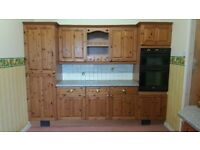 Kitchen - used Pine Fronted Kitchen Units.