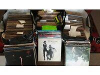Large vinyl collectio