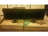 Two Hanns G HL225 (22.5 inch)monitors