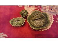 Cabbage design ornaments
