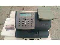 Franking Machine including 2 ink cartridges & instruction book, sale due to company's liquidation.