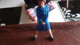 Maggie Thatcher Novelty Vintage Nut Cracker