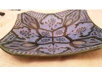 Beautiful Moroccan handpainted large dish / plate - perfect