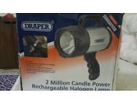 DRAPER 2 MILLION CANDLE POWER LAMP NEW