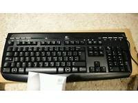 Logitec wired keyboard, brand new