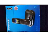 Panasonic KX-TGJ322 Digital Cordless Phone with Nuisance Call Control and Answering Machine,