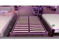 GREAT CONDITION! 4 ft 6 'rachel' metal bed frame double bed
