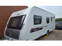 2013 elddis avante 576 caravan complete with suncamp air awning and annex