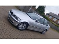 2004 (04) BMW 3 SERIES E46 318i ES 2.0L PETROL MANUAL 4DR SALOON MOT JUN 2017 HPI CLEAR SUPERB DRIVE