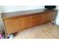 G plan extendable dining table and chairs & Sideboard