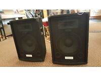 "Meridian Passive 10"" 100 Watt PA Speakers"