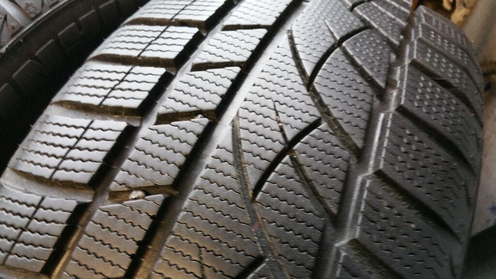 225 55 17 2 x tyres Jinyu Winter YW52