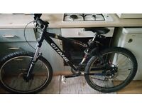 Gitane Bicycle prepared for DOWNHILL with EXTRAS