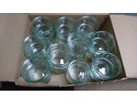 30 glass ramekins for desserts, condiments or crafts