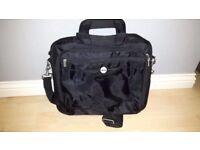 Black Dell laptop bag