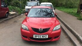 2006 Mazda 3 Ts 5dr 1.3 Petrol Red BREAKING FOR SPARES