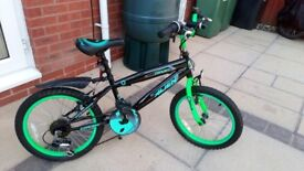 """Child's Bike Ideal for a 5-8 years old (18"""" Inch Wheels) Very Good Condition"""