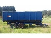 Marstons 10 tonne tipping trailer