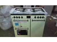 KENWOOD CK503 Dual Fuel Range Cooker - Black ex display