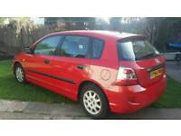 2004 HONDA CIVIC 1.4 PETROL, ONLY 48,000 MILES !!! 1 LADY OWNER, MINT CONDITION