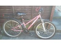 Apollo Vivid mountain bike good condition from Halfords suit 5ft ish. slime tubes fitted.