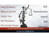 UK Tourist Visa, EEA Extended Family Visa, Appeal, Bail, Tier 1 Extension, Temporary admission