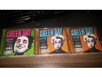 Greenday CDs £1 each