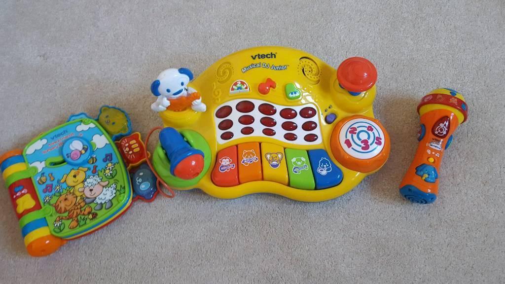 V tech musical toys