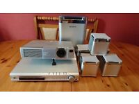 home cinema projector and home suround system