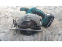 Makita BSS611 18V LXT Li-ion Cordless Circular Saw