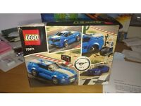 Lego ford mustang gt speed champions 75871 still in box