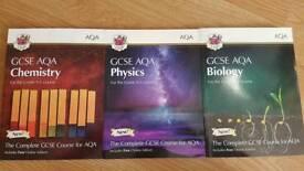 CGP GCSE AQA Triple Science Student Textbook Collection