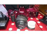 Nikon D5200 + accessories