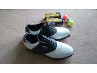 Mens Dunlop Golf Shoes, UK size 10.5
